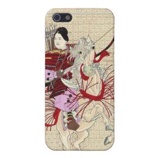 Female Warrior Japanese Woodblock Print iPhone 4 C iPhone 5 Case