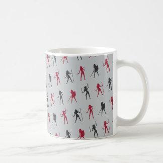 Female Warriors Pattern Mug