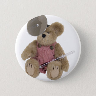FemalePediatricsDoctor100409 6 Cm Round Badge