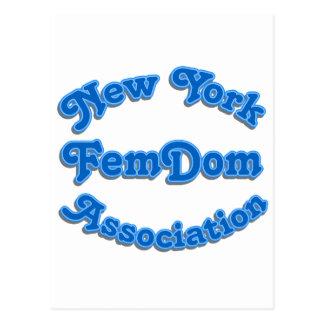 Femdom Association Postcard