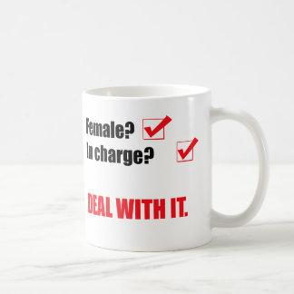 femdom classic white coffee mug