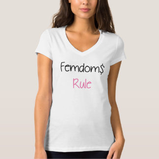 Femdoms Rule Logo Tee