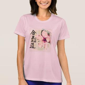 Feminine Aikido Athletic T-Shirt