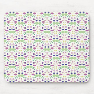 Feminine and Pretty Polka Dot Pattern Mouse Pad