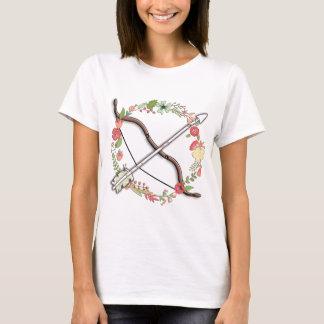 Feminine Archery Bow & Arrow T-Shirt