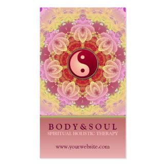 Feminine Beauty YinYang Holistic Business Card