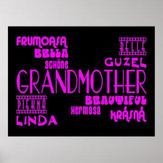 Feminine Chic : Beautiful Grandmothers & Grandmas Posters