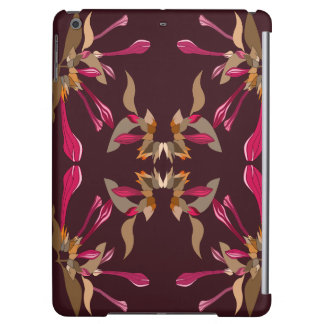Feminine Cyclamen and Burgundy Kaleidoscope Style