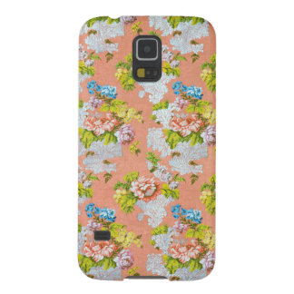 Feminine Floral Design Galaxy S5 Case