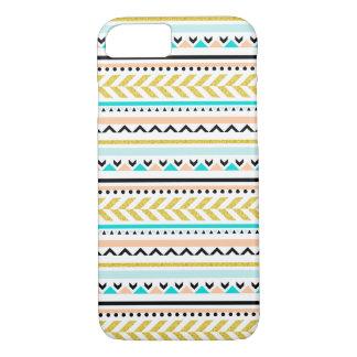 Feminine Geometric Aztec Inspired Pattern iPhone 8/7 Case