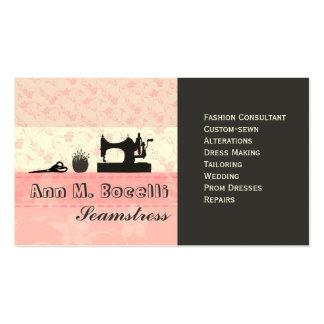 Feminine Handmade Fashion Moda Pack Of Standard Business Cards