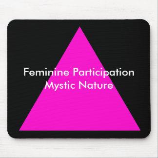 Feminine Participation Mystic Nature The MUSEUM Mouse Pad