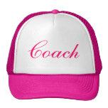 Feminine Pink Coach Hat