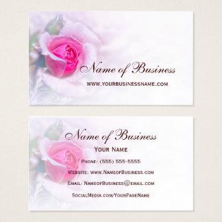 Feminine Pink Rose Flower Elegant Floral