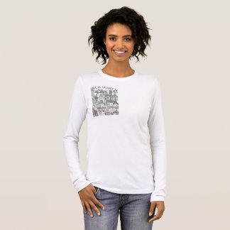 Feminine t-shirt Basic Long Arch Mural Search