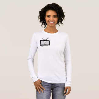 Feminine t-shirt Basic Long Arch Search TV