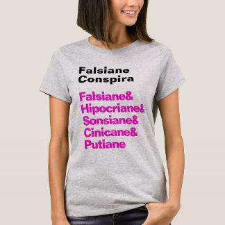 Feminine t-shirt Falsiane Conspira