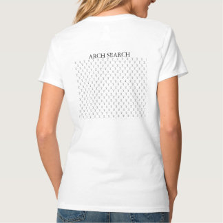 Feminine t-shirt Hanes V Mesh Arch Search