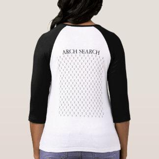 Feminine t-shirt Reglan 3/4 Mesh Arch Search