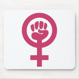 Feminism For The Win Mouse Mat