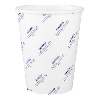 Feminism in Purple Paper Cup