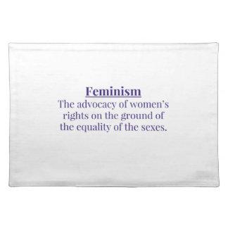 Feminism in Purple Placemat