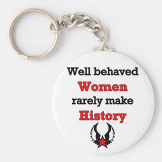 Feminism Making History, keychain