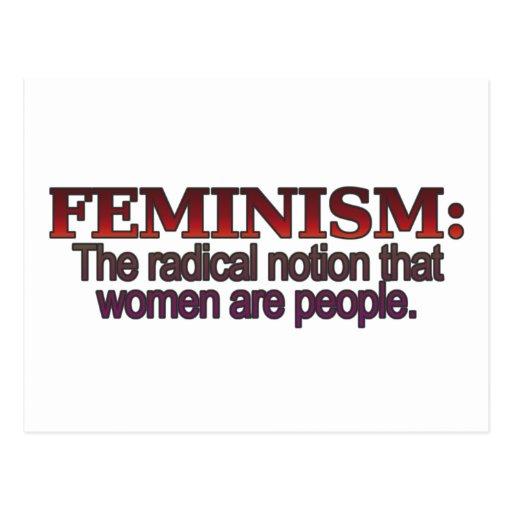 Feminism Post Cards