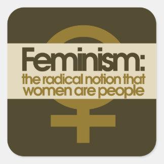 Feminism Square Sticker