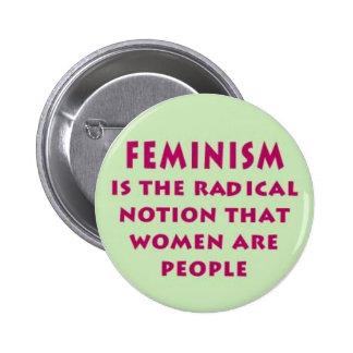 Feminism Statement Button