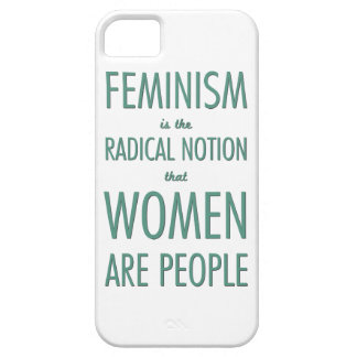 Feminism: The Radical Notion that Women are People Barely There iPhone 5 Case