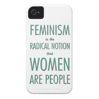 Feminism: The Radical Notion that Women are People Case-Mate iPhone 4 Cases