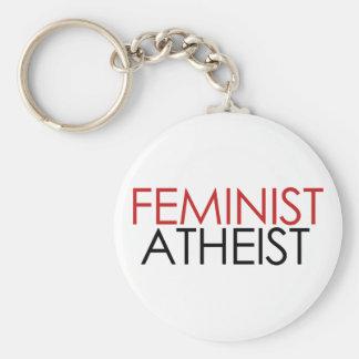 Feminist Atheist Key Ring