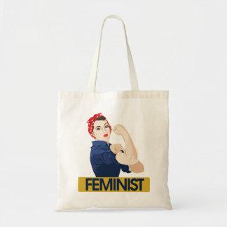 Feminist Budget Tote Bag