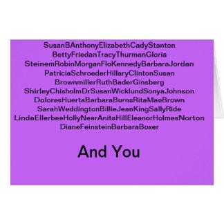 Feminist Card III