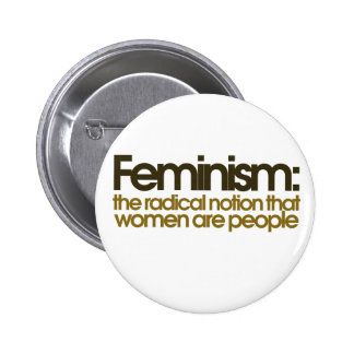 Feminist Definition 6 Cm Round Badge