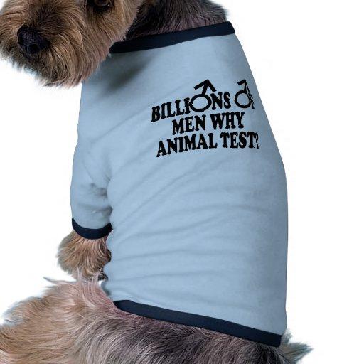 Feminist funny animal test dog shirt