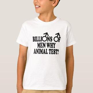 Feminist funny animal test T-Shirt