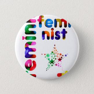 Feminist Jellybean 6 Cm Round Badge