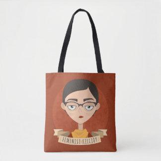 Feminist Killjoy Quote Tote Bag