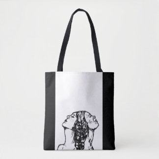 Feminist LGBT Love and Equality Tattoo Design Tote Bag