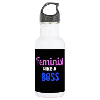 Feminist Like A  Boss 532 Ml Water Bottle