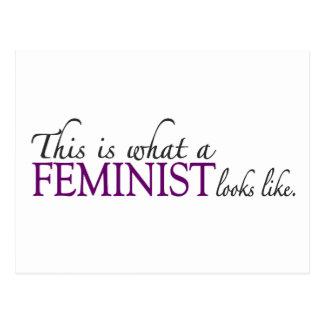 Feminist Looks Like Postcards