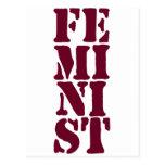 Feminist! Postcard