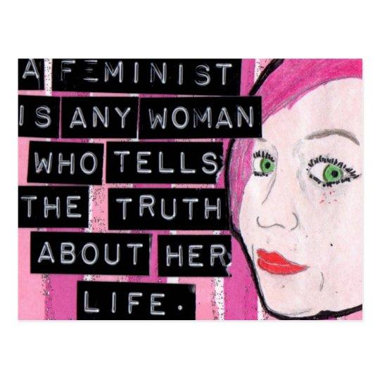 Feminist Postcard