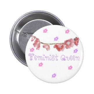 feminist queen (◕‿◕✿) pins