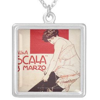 Feminist Reunion of the Socialist League Square Pendant Necklace