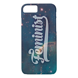 Feminist Space Galaxy Pattern iPhone 8/7 Case