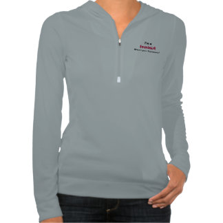 Feminist super power slogan hooded sweatshirt