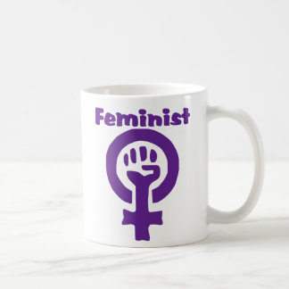 Feminist Symbol in Purple Coffee Mug